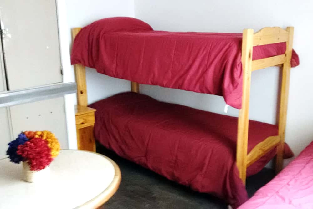 Shared dorm<br />with<br />6 beds
