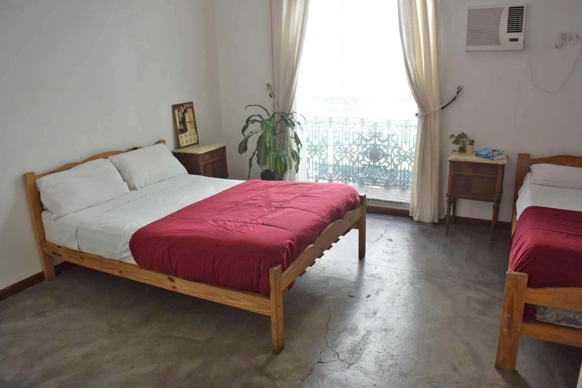 Habitación privada<br />con baño compartido